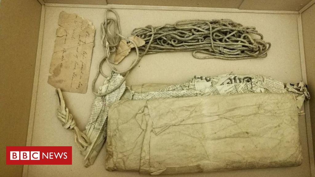 Objetos da serial killer Amelya Dyer foram encontrados mais de um século depois de sua morte. Foto: BBC.