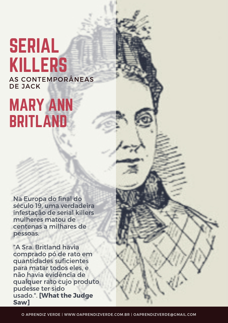 Mary Ann Britland - serial killer - Capa