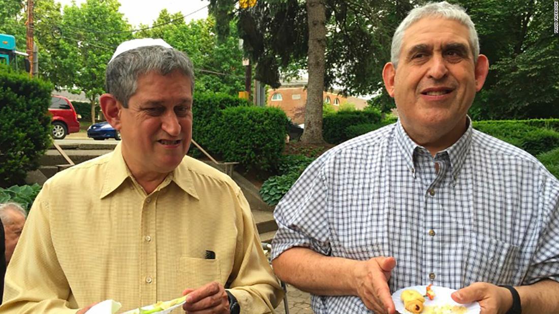 David e Cecil Rosenthal. Foto: CNN.