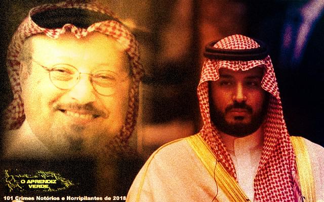 Jamal Khashoggi - 101 Crimes Notórios e Horripilantes de 2018