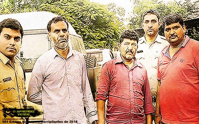 Aadesh Khambra - 101 Crimes Notórios e Horripilantes de 2018