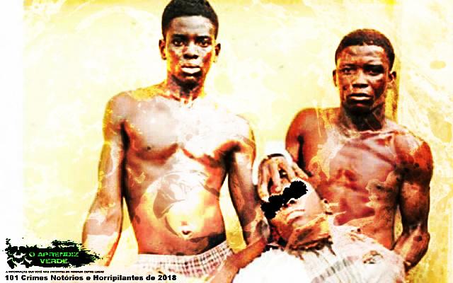 Ayodeji Obadimeji - 101 Crimes Notórios e Horripilantes de 2018
