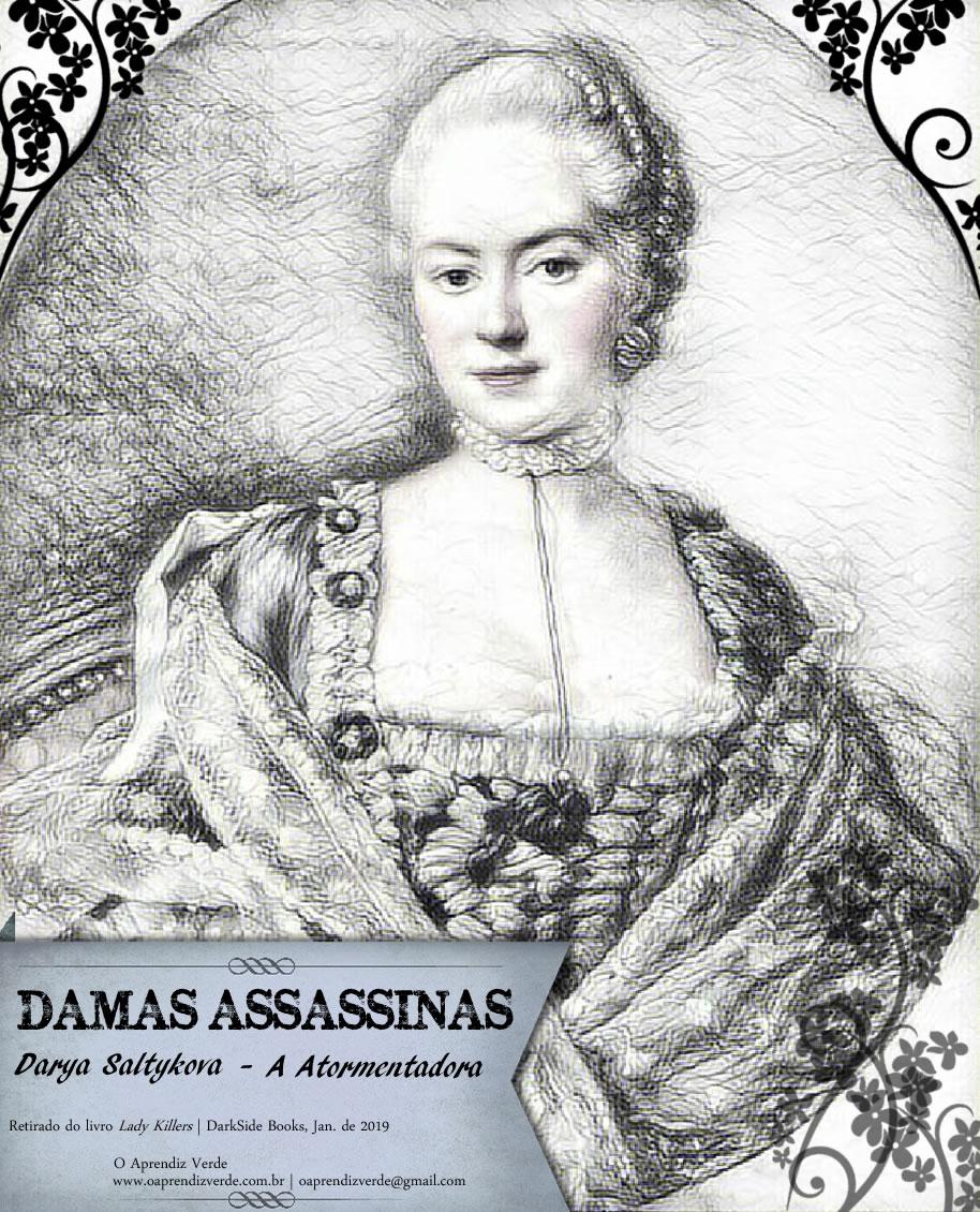Damas Assassinas - Darya Saltykova - Capa