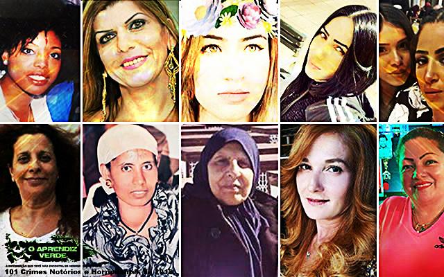 Feminicídios em Israel - 101 Crimes Notórios e Horripilantes de 2018