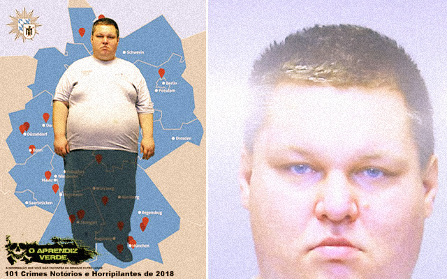 Grzegorz Stanislaw Wolsztajn - 101 Crimes Notórios e Horripilantes de 2018