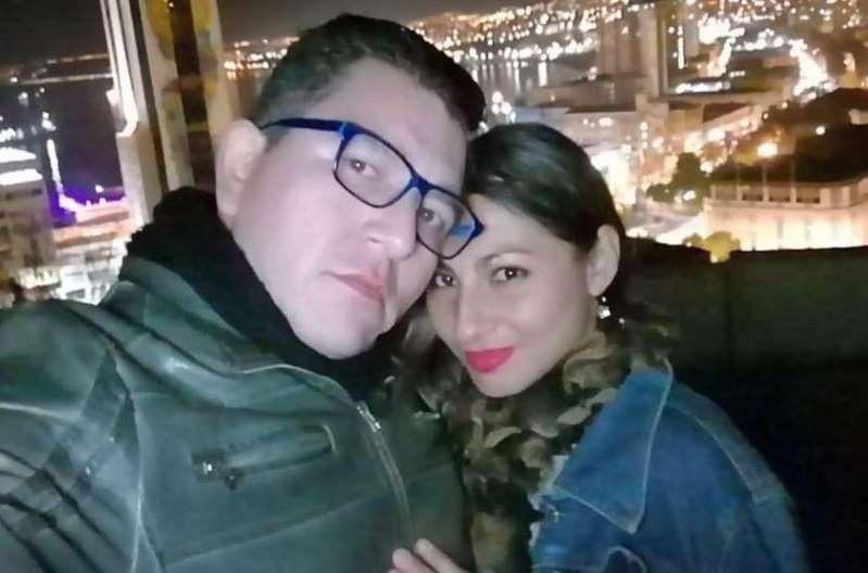 Johana Hernández e Francisco Silva. Foto: 24horas.cl.