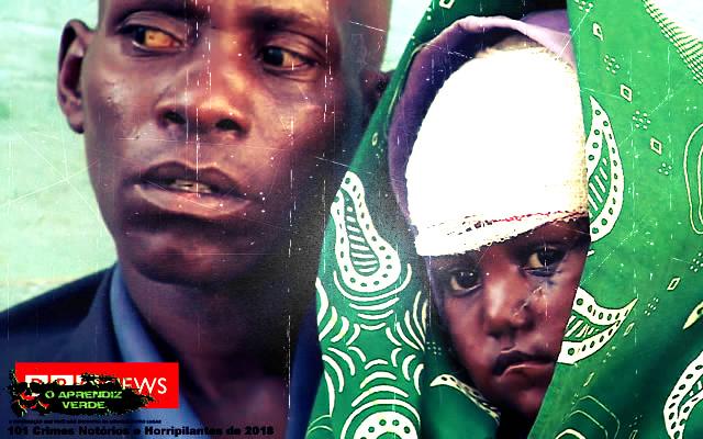 Massacre em Maze - 101 Crimes Notórios e Horripilantes de 2018