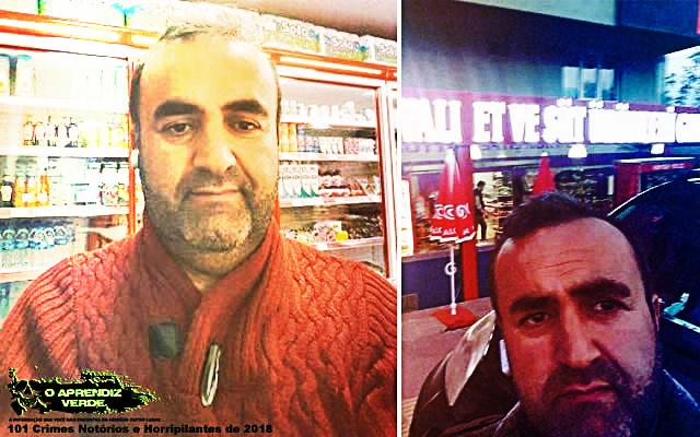 Mehmet Ali Çayıroğlu - 101 Crimes Notórios e Horripilantes de 2018