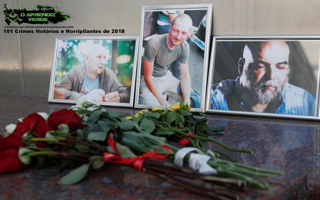 Orkhan Dzhemal - 101 Crimes Notórios e Horripilantes de 2018