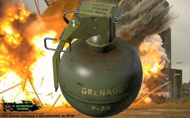 Yambio Granada - 101 Crimes Notórios e Horripilantes de 2018
