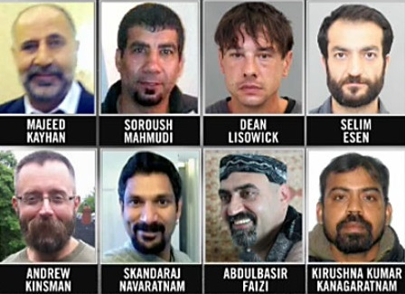 As vítimas do serial killer canadense Bruce McArthur. Foto: CTV News.