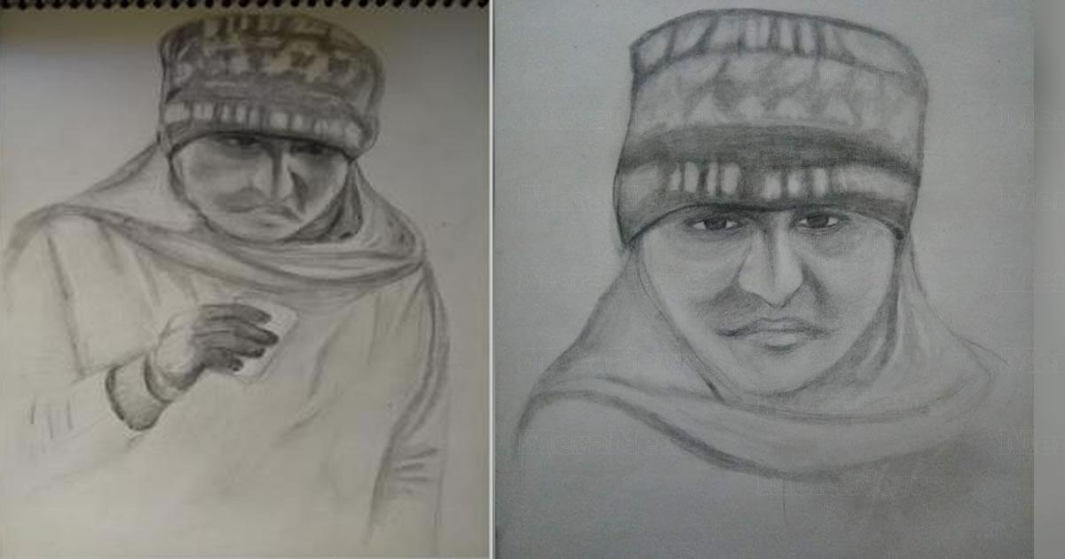 Retrato falado - serial killer - Índia