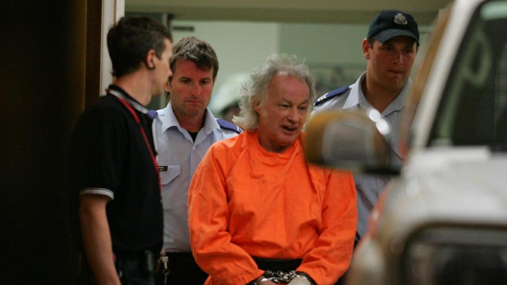 O serial killer Ivan Milat. Foto: Daily Telegraph.