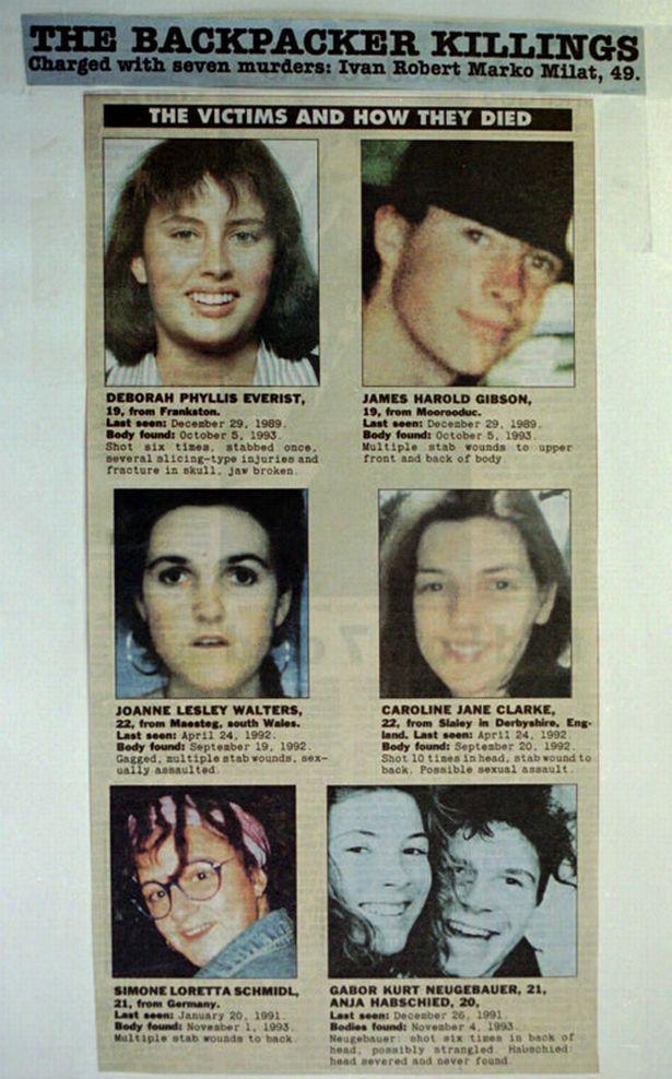 Vítimas de Ivan Milat.