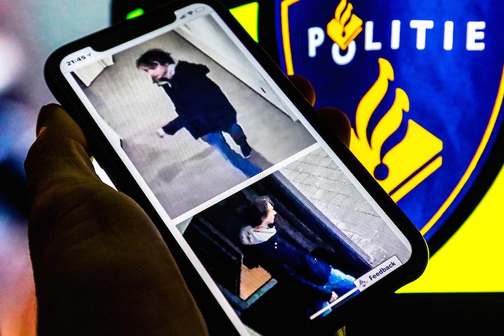 Imagem compartilhada pela polícia holandesa na caçada a Thijs H. Foto: Rob Engelaar / Hollandse Hoogte.